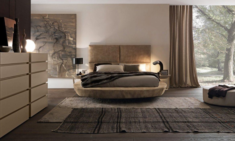جربي الفخامة في غرفة نومك واختاري السرير الدائري