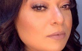 تعرفي على خطوات ماكياج جواد بينغو على الممثلة بشرى أهريش