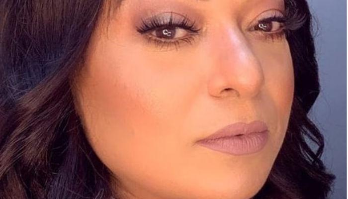 صورة تعرفي على خطوات ماكياج جواد بينغو على الممثلة بشرى أهريش