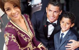 """بالصورة.. ليلى الحديوي تطالب كريستيانو بإعادة ابنها """"الجيلالي"""""""