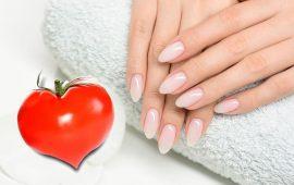 وصفتين طبيعيتين بالطماطم لتطويل أظافرك ومنحها لمعانا متميزا