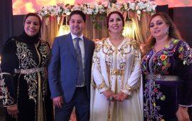 بالصور.. سعيدة شرف تبهر جمهورها في حفل خطوبتها