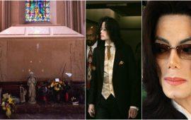 نبش قبر مايكل جاكسون بعد إتهامه بإغتصاب 11 طفلا