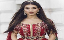 """بعد تتويجها سفيرة للقفطان المغربي.. الممثلة التركية """"منار"""" تزور المغرب من جديد"""