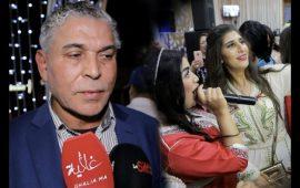بالفيديو.. رد فعل الستاتي بعد سؤاله عن غياب إبنته إلهام عن عرس شقيقتها