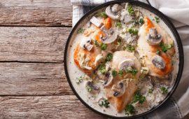 مطبخ غالية.. طبق صدور الدجاج بالفطر