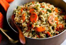 مطبخ غالية.. طريقة تحضير الأرز بالجزر المبشور والدجاج