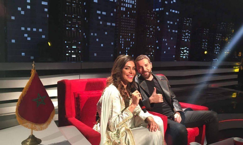 """بالصورة.. زوج """"منار"""" يثير إعجاب الجمهور المغربي بعد زيارته للمحمدية"""