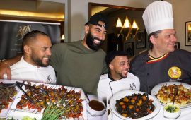 """بالفيديو.. مطعم""""NICOLE"""" بالبيضاء يستعرض لحومه المستوردة من أوروبا بحضور أهم الطباخين العالميين"""