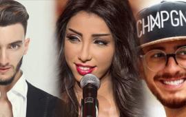 أخبار المشاهير: فنانة لبنانية تعشق المجرد.. دنيا باطما بفستان صادم وبهاوي يثير غضب إحدى متابعاته