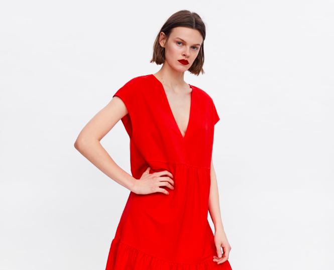 """بالصور.. """"zara"""" تطلق تشكيلة جديدة من الفساتين الربيعية"""