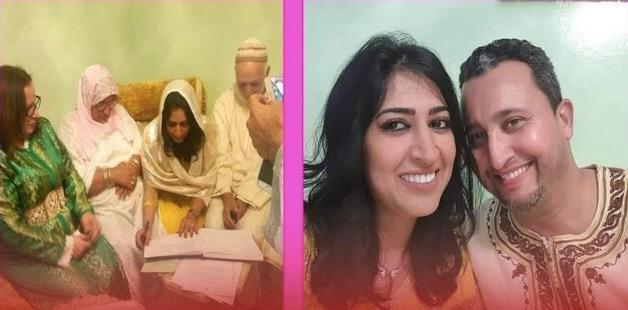 صورة بعد مرور يوم واحد على حفل زفافها.. زوج دنيا بوطازوت يصدم جمهورها