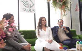 """بالفيديو.. علامة """"الطاووس"""" للجمال تختار صفاء حبيركو وجها إعلانيا لمنتجاتها"""