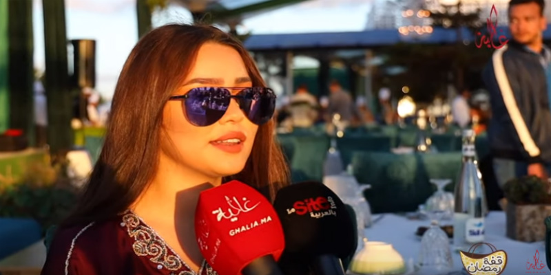 فيديو- قفة رمضان- عبير براني: بغيت نعرض على الراقصة نور وحاتم عمور..وأحلام الزعيمي حمقا