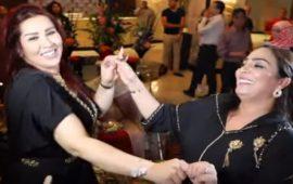"""بالفيديو.. وصلة رقص تجمع الفنانة سعيدة شرف"""" والممثلة حنان الإبراهيمي"""
