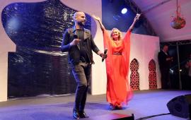 الفنانة يسرا تشارك جمهورها صورة مع عزيز اخنوش وزوجته بالمغرب