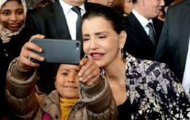 شقيقة الملك محمد السادس تحل بطنجة في رحلة على متن البراق