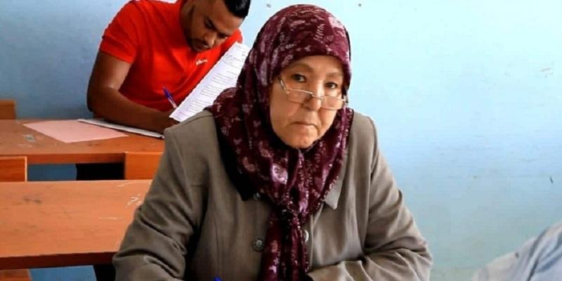 Photo of سيدة سبعينية تجتاز امتحانات البكالوريا في أصيلة