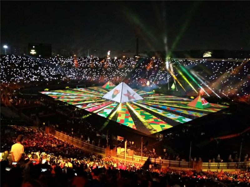 Photo of مصر تصدم العالم بحفل افتتاح كأس أمم إفريقيا -فيديو
