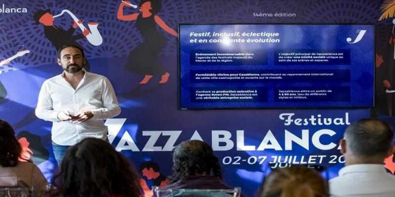 "Photo of البيضاويون على موعد مع الدورة الـ 14 لمهرجان ""جازابلانكا"" -فيديو"