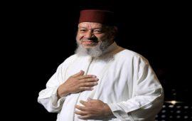 آخر ظهور للمطرب عبد الهادي بلخياط بعد المرض