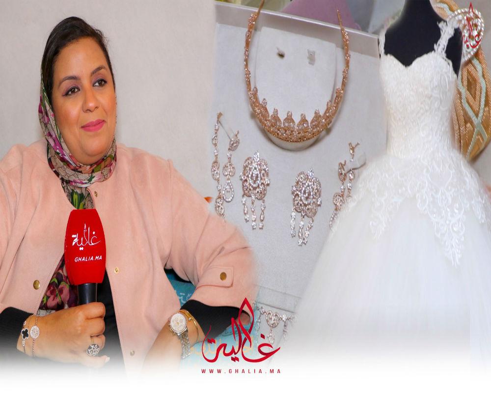 صورة فيديو..  تشكيلة عروس صيف 2019 مع مصممة المشاهير سليمة مناني
