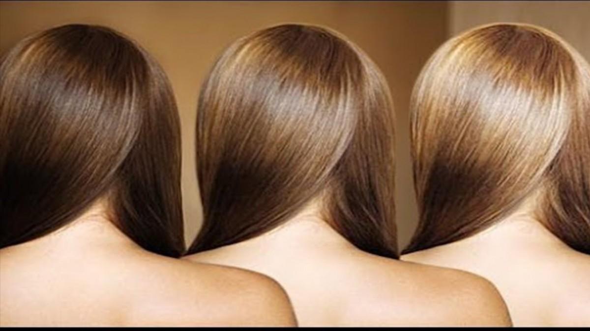 صورة خلطة طبيعية لتفتيح شعرك بدون مواد كيميائية
