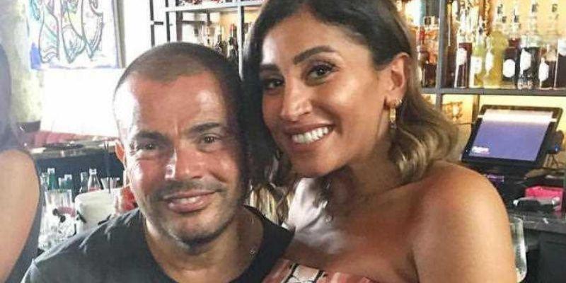 """صورة بعد ضجة خلافها مع عمرو دياب.. أول تعليق لدينا الشربيني حول """"الزواج"""""""
