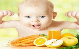 أطعمة مهمة تقوي مناعة جسم طفلك