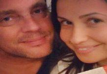 "ريا أبي راشد تنشر صورتها مع زوجها بـ ""البيجاما"""