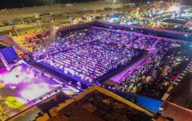 "2400 شخص في افتتاح مهرجان ""مانداغيغ"""