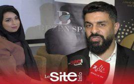 أحمد سليمان يفتتح مركزا للتجميل بالجديدة- فيديو