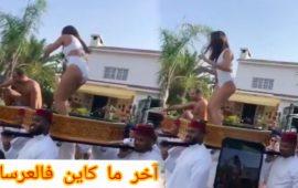 """فيديو عرس مغربي بـ """"المايوه"""" يخلق الجدل"""