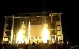بالفيديو: ألعاب نارية تقتل مغنية راب أثناء عرض حي على المسرح