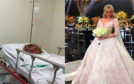 في شهر عسلها.. فنانة مشهورة تدخل للمستشفى
