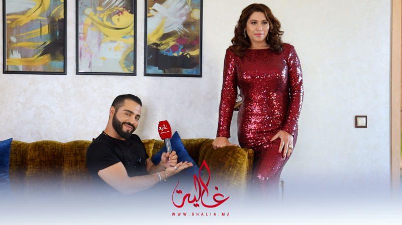 غالية ونص.. كواليس جلسة تصوير النجمة هدى سعد مع المصمم العالمي هشام بنسليمان- فيديو