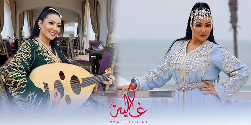 Photo of غالية ونص.. كواليس جلسة تصوير النجمة المصرية سمية خشاب بالقفطان المغربي- فيديو