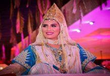 بعد الهجوم عليها.. مريم باكوش تسخر من المهاجمين بفستان زفافها