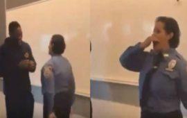 شرطية مغربية تحتفل بترقيتها في أمريكا بالطريقة المغربية- فيديو