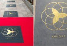 ممر المشاهير في دبي يحتفي بالفنانين العرب
