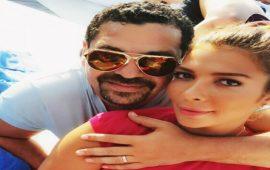 زوج الفنانة أصالة يشعل مواقع التواصل الاجتماعي بسبب خاتم زواجه- صور