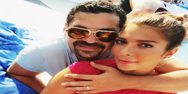 Photo of زوج الفنانة أصالة يشعل مواقع التواصل الاجتماعي بسبب خاتم زواجه- صور