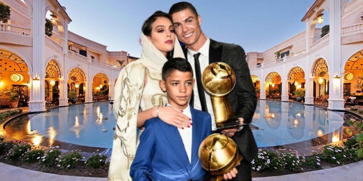 صورة النجم كريستيانو رونالدو في ورطة بسبب إبنه!