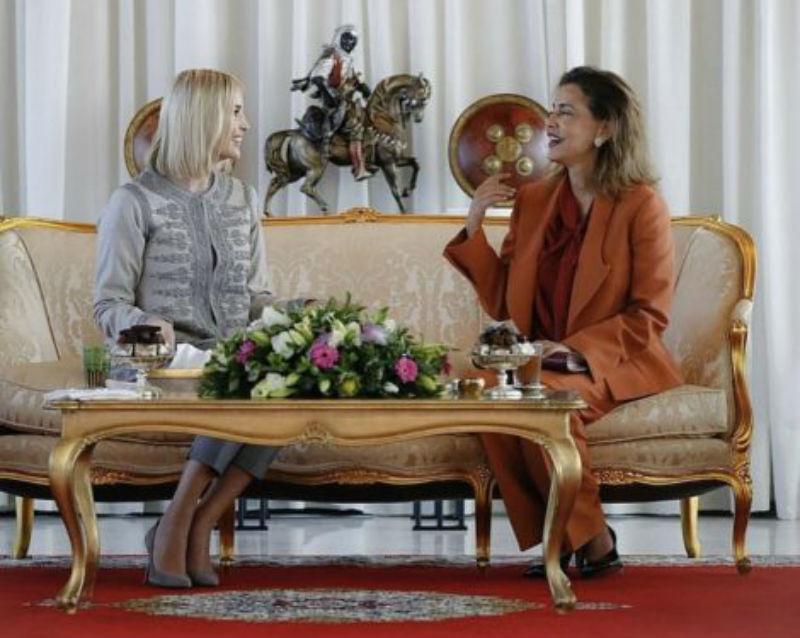 Photo of ابنة الرئيس الأمريكي تبهر المغاربة بإطلالها في المغرب- صور