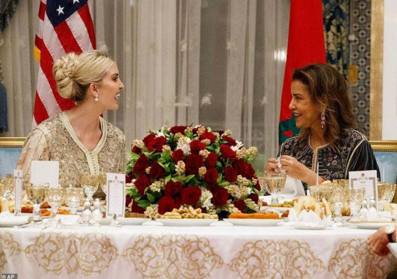 Photo of في القصر الملكي.. إبنة ترامب تتألق بالقفطان المغربي رفقة الأميرة لالة مريم- فيديو