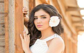 الفنانة المصرية مي عمر تستعين بشاحنة لنقل فستان