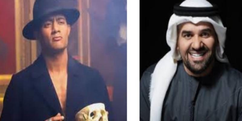 """صورة بعد نجاح """"إنساي"""".. هل يقدم محمد رمضان دويتو مع حسين الجسمي؟"""