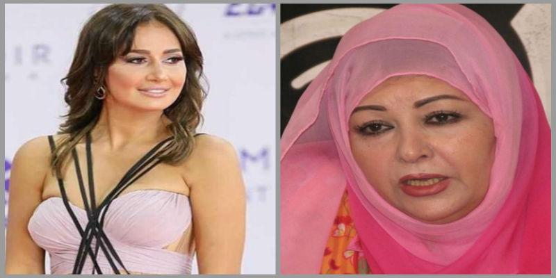 صورة عفاف شعيب تهاجم فنانات خلعن الحجاب