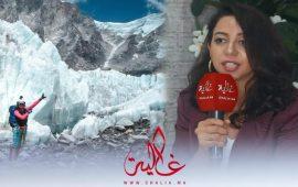 بالفيديو.. تعرف على أول امرأة مغربية تتسلق 7 قمم جبلية وتنافس الرجال