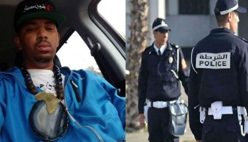 صورة مغني راب شهير يدعوا الشرطة الأمريكية الى اللإقتداء بالشرطة المغربية- فيديو